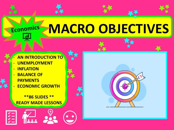 A Level Economics Macroeconomic Objectives