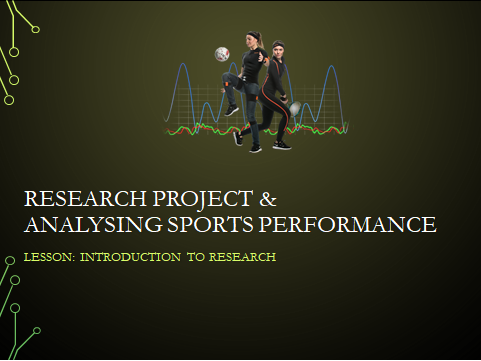 BTEC Sport: Research Project & Analysing Sports Performance Full Unit (PowerPoint, SOW & Worksheets)