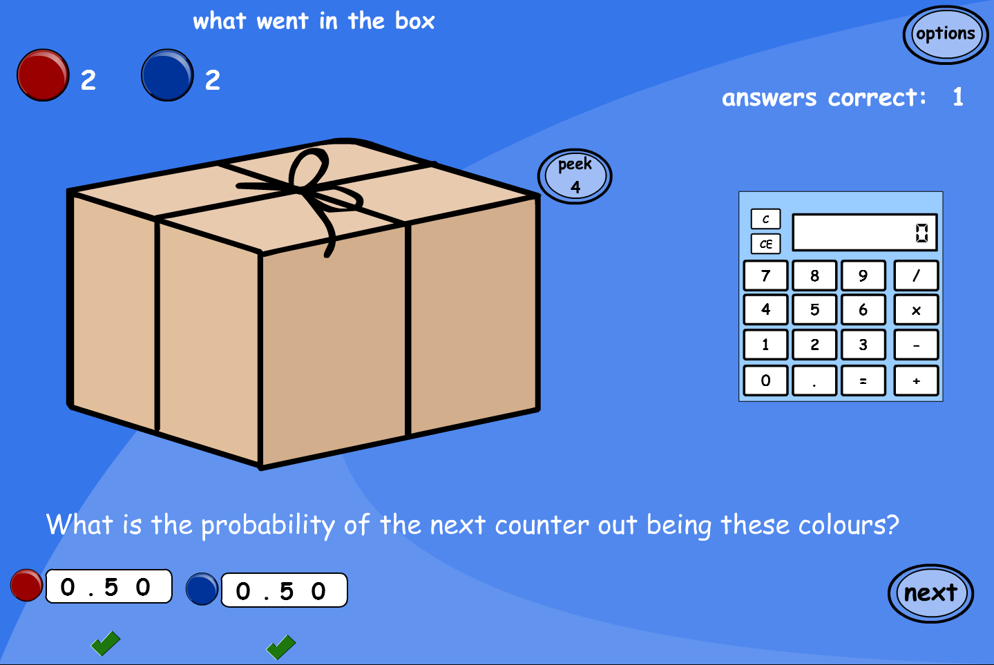Calculating Probability Interactive Activity - KS2 Number