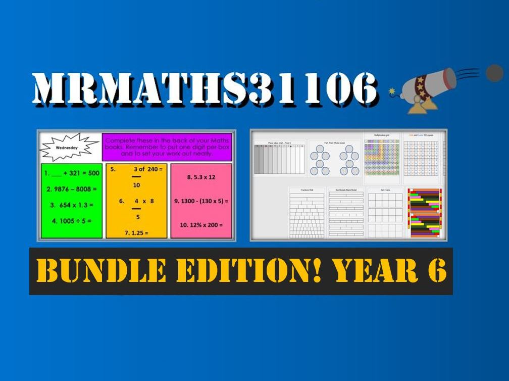 Year 6 - Mr Maths 31106 Bundle