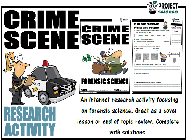 Forensic Science Internet Research Activity