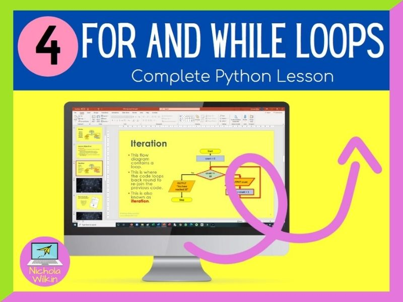 Python Loops and Iteration Lesson