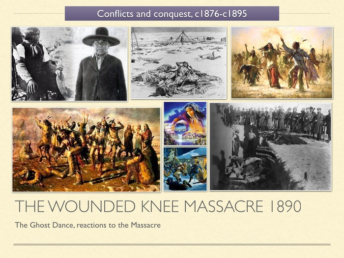 GCSE History of American West in 1800s. Unit 3 The Wounded Knee Massacre 1890