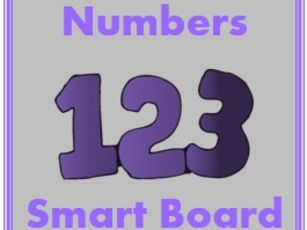 Zahlen (Numbers in German) 1 to 30 Smartboard Activities