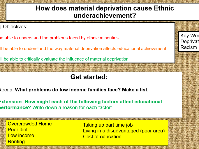 Sociology of Education- DETAILED AS/A Level Scheme of Work (30 lessons)