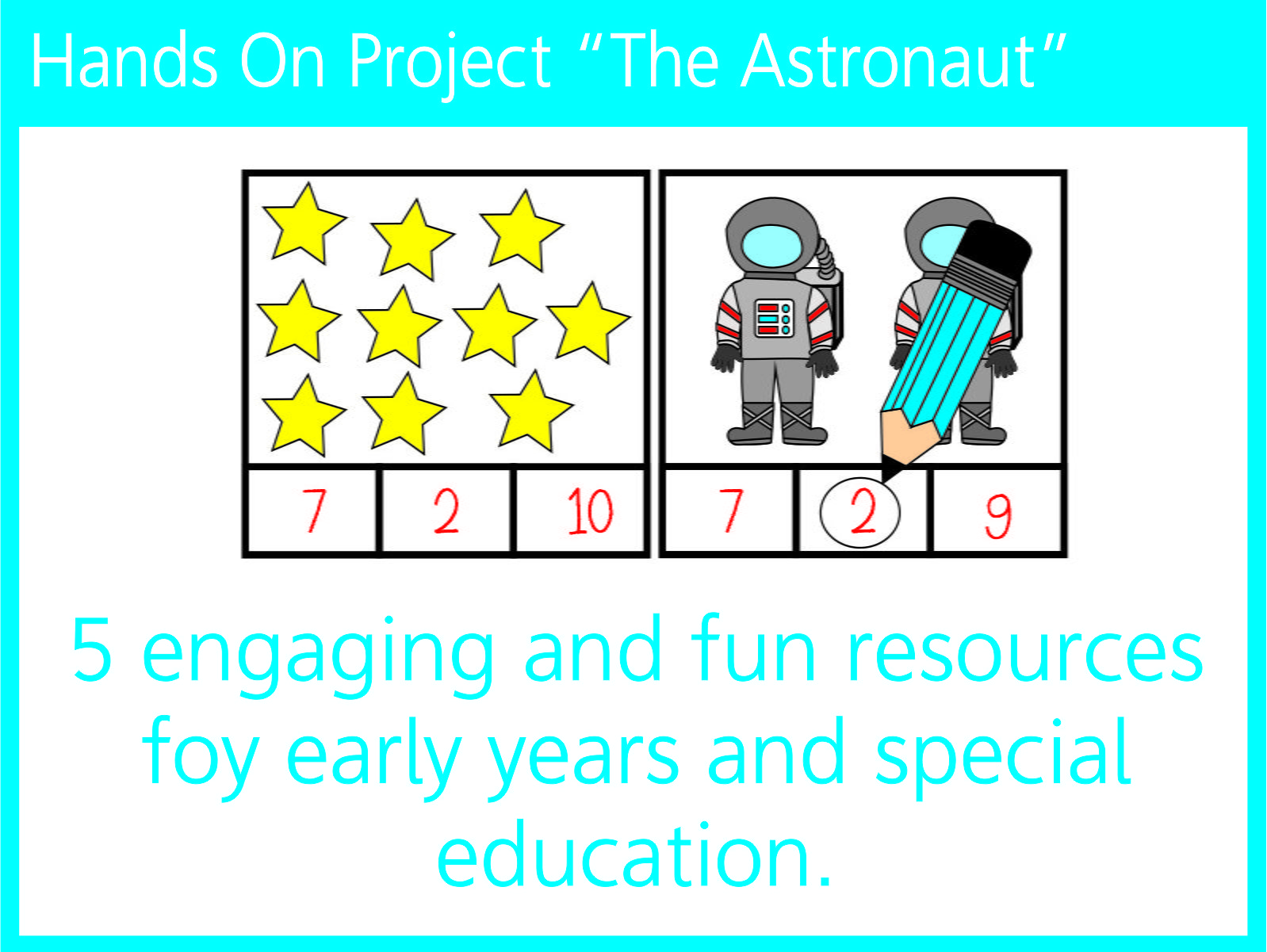 "Hands on project ""The astronaut"""