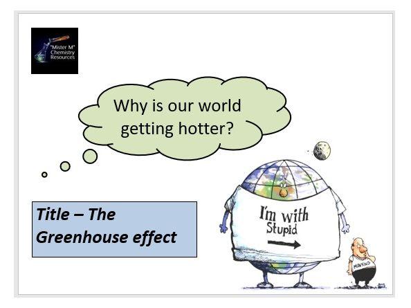 AQA GCSE Chemistry - C13 - The Greenhouse Effect