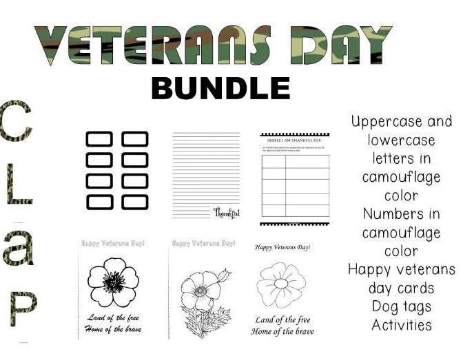 Veterans Day Bundle