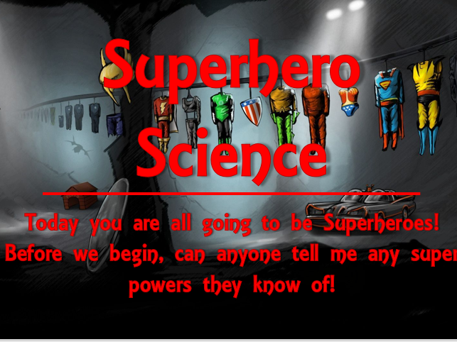 Superhero Science Investigation