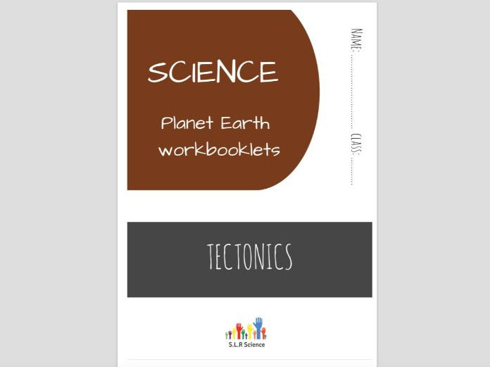 SPECIAL EDUCATION (SCIENCE) - TECTONICS, PLATES, EARTHQUAKES, VOLCANOES science workbooklet