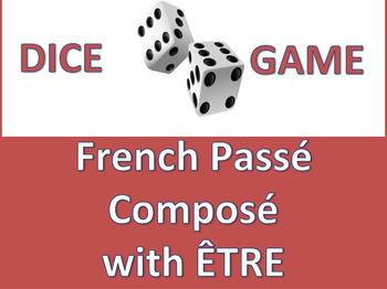 Dice Game - French Passé Composé with Être