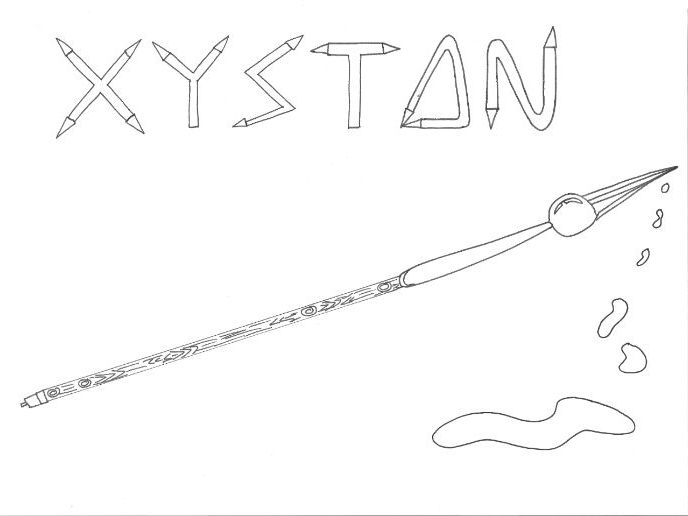 Halloween: Xyston Colouring Sheet