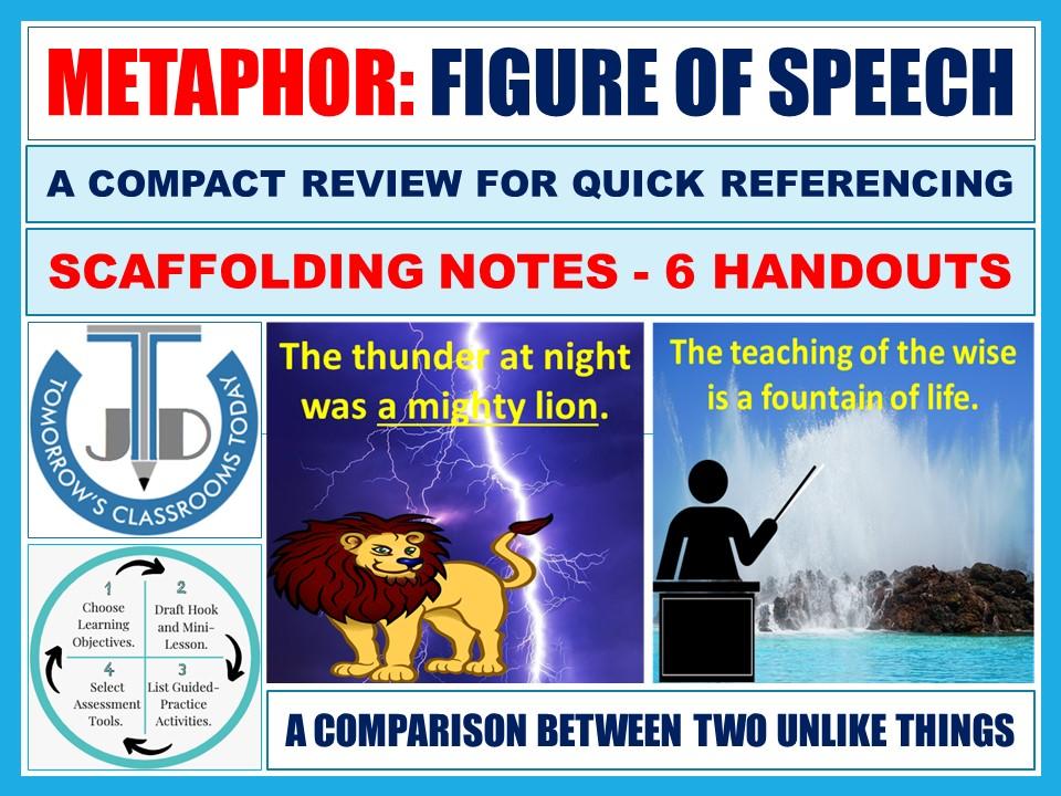 METAPHOR: FIGURATIVE LANGUAGE - SCAFFOLDING NOTES