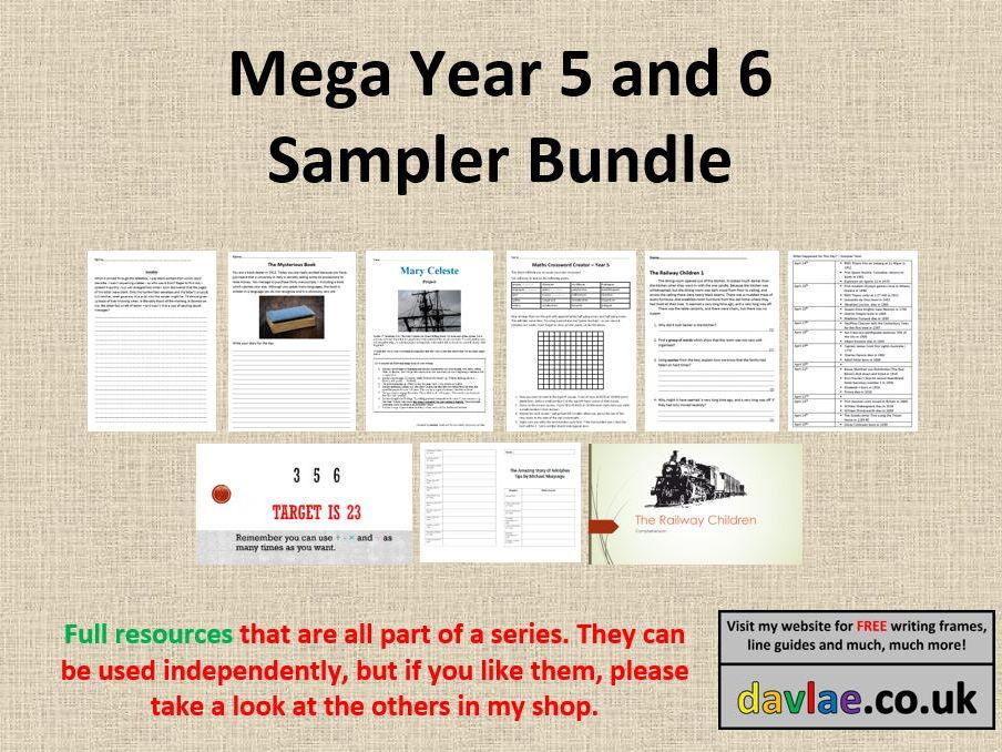 Mega Year 5 and 6 Sampler Bundle