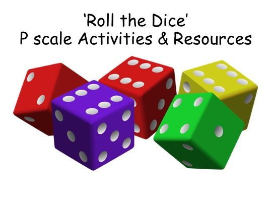 SEND Maths Number Dice Activities