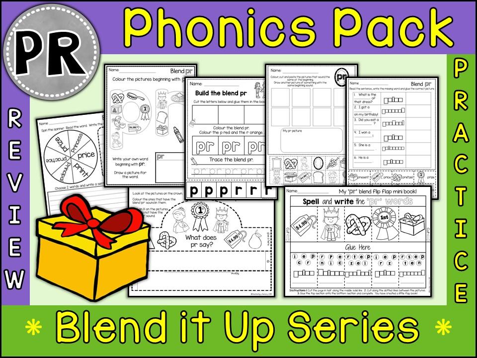 Phonics: Phonics Blend PR