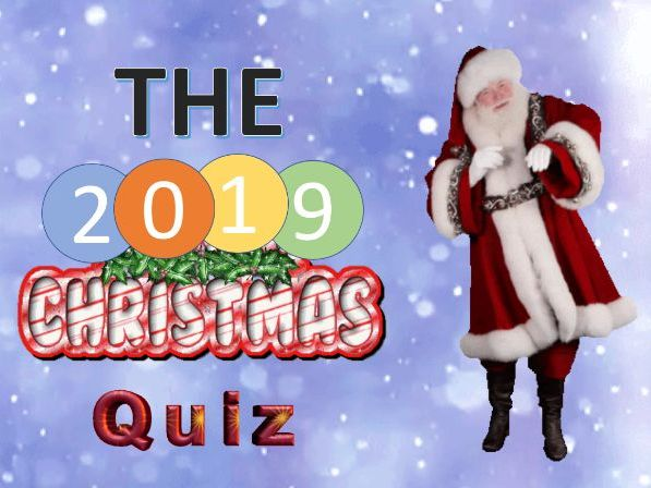 #AMAZING  Christmas Quiz 2019 ONLY £1