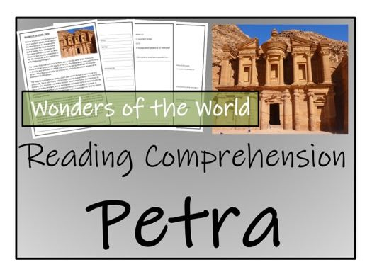 UKS2 History - Petra Reading Comprehension Activity