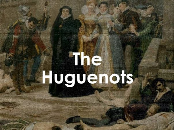 AQA 9-1 Huguenots (Migration L23)