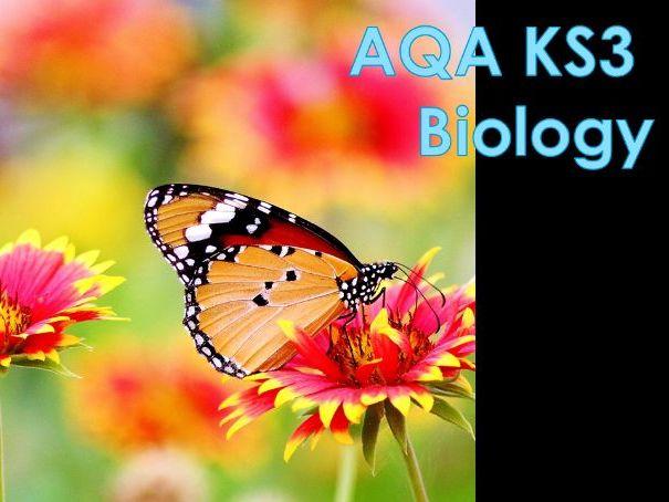 AQA KS3 Feeding Relationships scheme of work