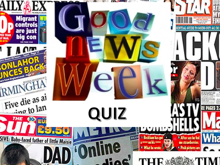 Weekly News Quiz with Halloween Puzzle wc 19/10/20