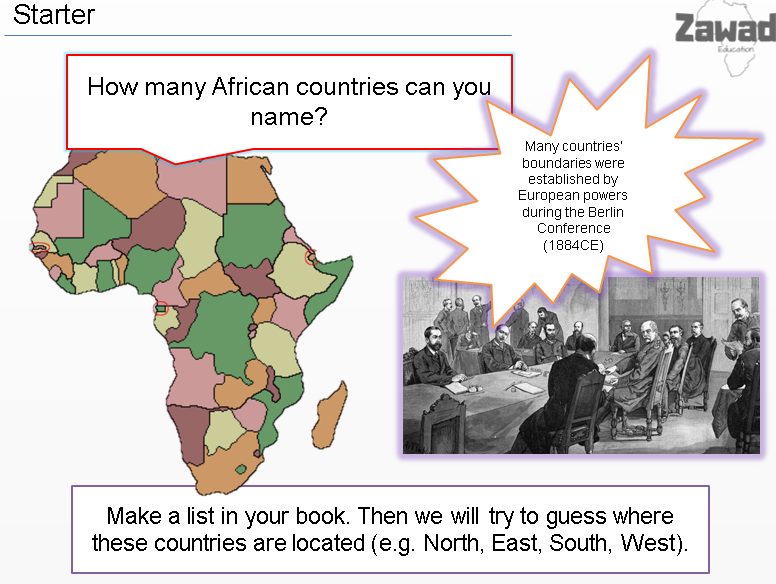 African Kingdoms (key stage 3 history: the slave trade)