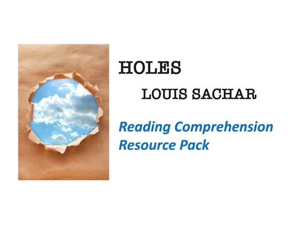 """Holes"" Reading Comprehension"