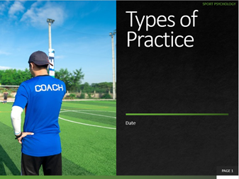 3. Types of Practice