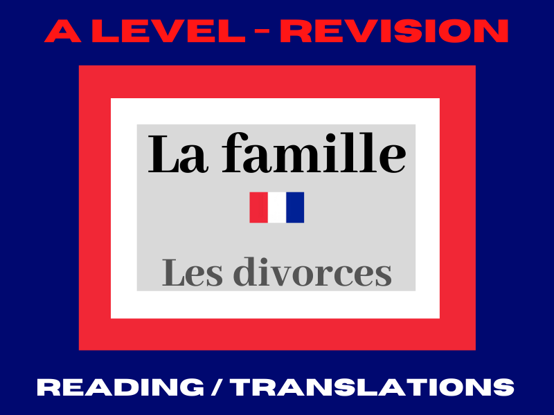 French A level divorce