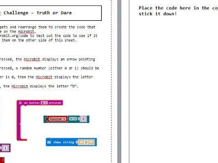 Microbit Offline Programming Homework