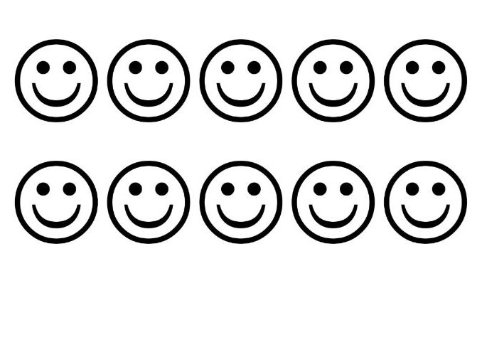 Printable Behaviour Management Faces