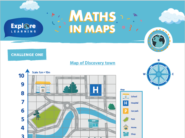 Free_Maths in maps_Activity sheet
