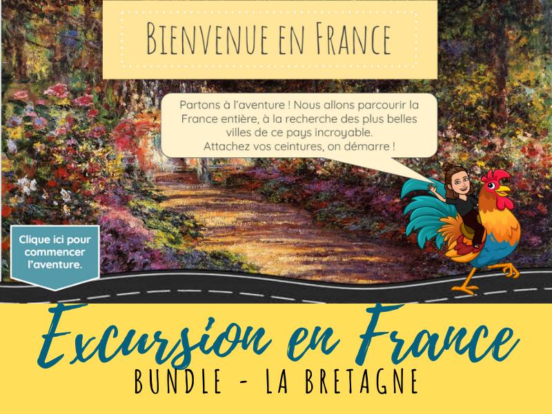 French Virtual Field Trip - Bretagne region