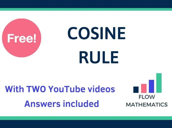 Cosine rule - with TWO YouTube videos!