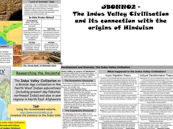 OCR/AQA Indus Valley KS5