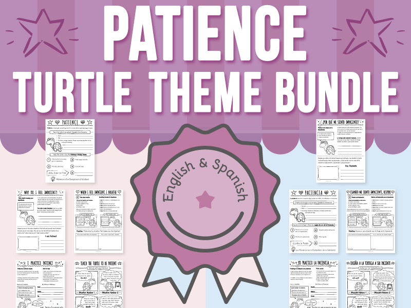 Patience - Turtle Theme BUNDLE
