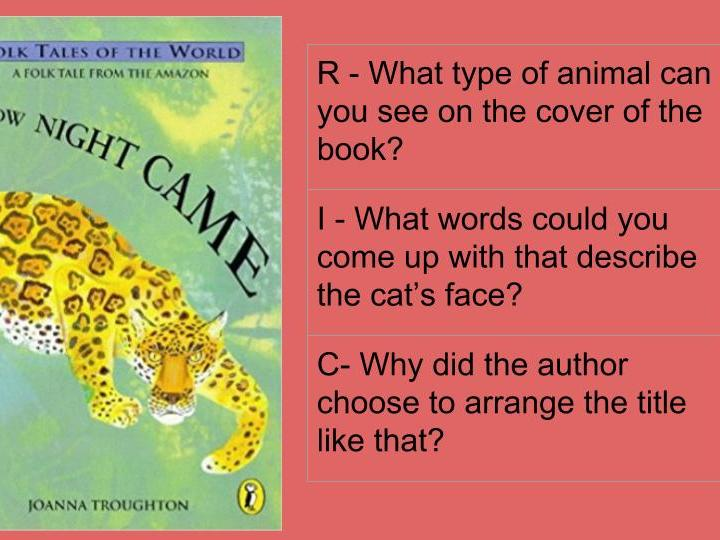 KS2 Whole Class Guided Reading for How the Night Came by Joanna Troughton