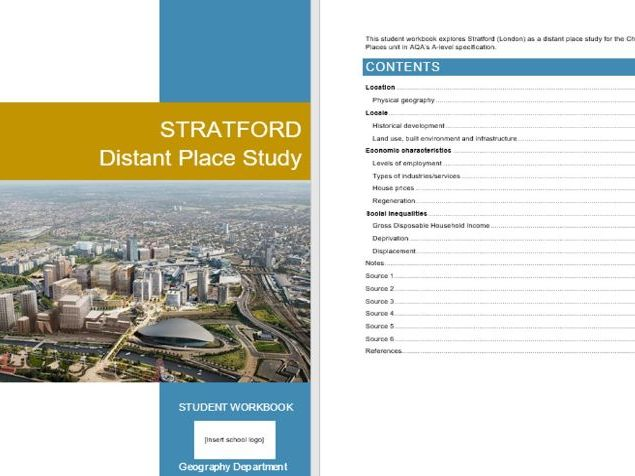 Stratford Distant Place Study, Changing Places