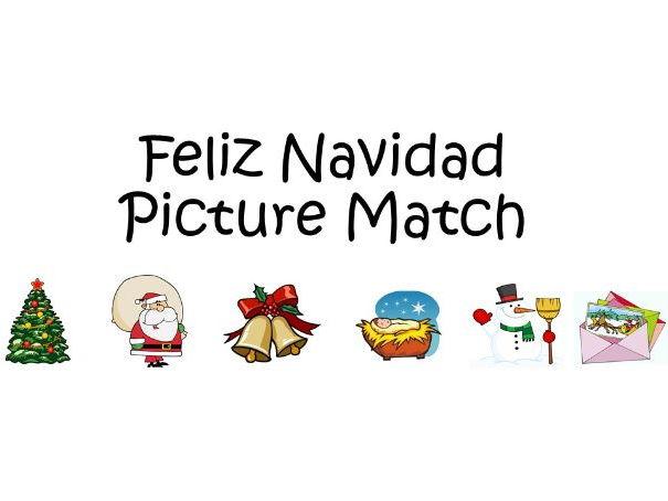Feliz Navidad - Picture Match