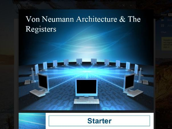 VON NEUMANN ARCHITECTURE  FULL RESOURCE PACK AT GREAT VALUE&GREAT OFFER! GCSE COMPUTER SCIENCE