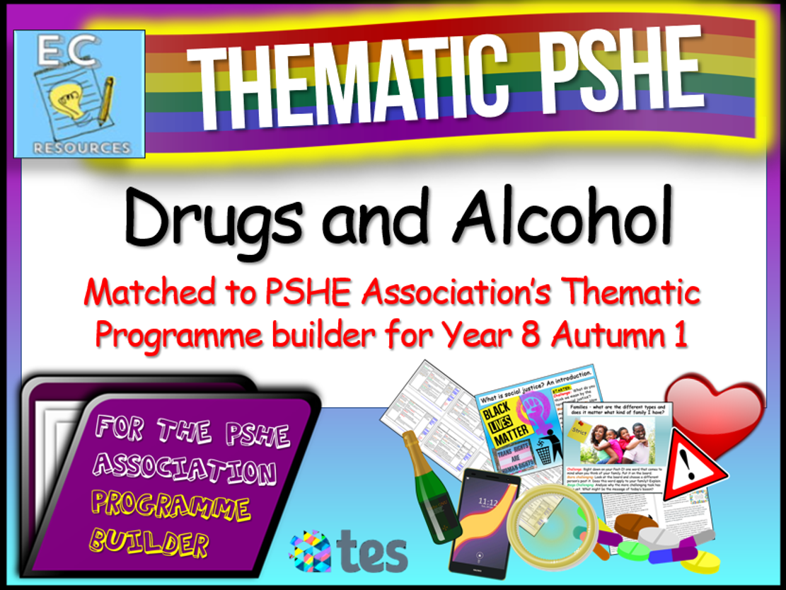 Thematic PSHE Drugs and Alcohol