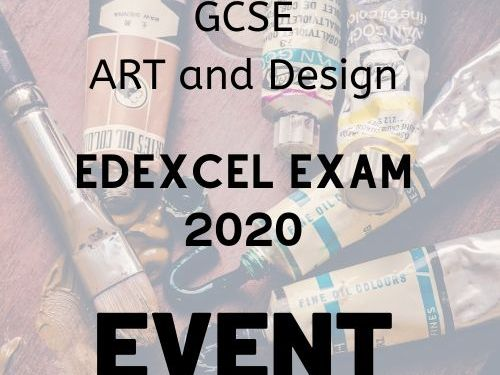 Edexcel Art and Design  Exam theme 2020 Event