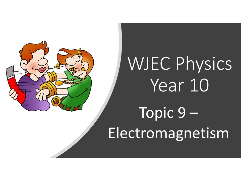 WJEC 1.9 (Triple) Electromagnetism whole topic ppt