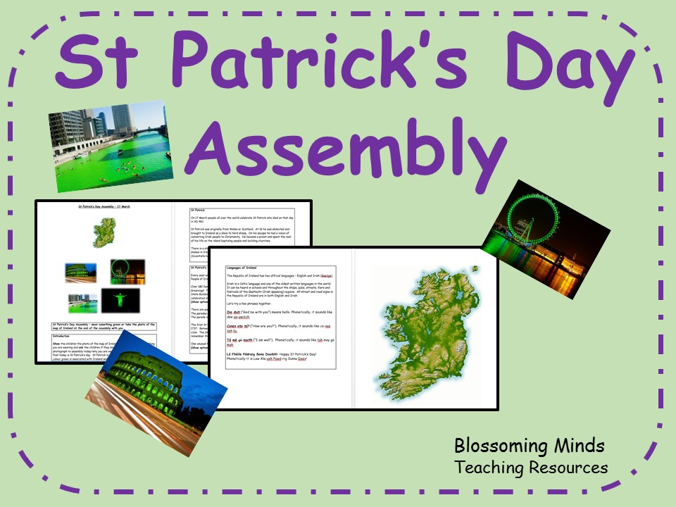 St Patrick's Day Assembly - 17 March