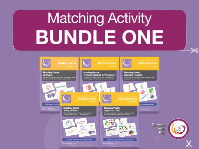 Matching Activity Bundle 1