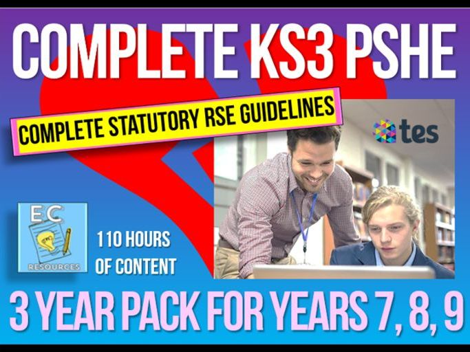 Complete KS3 PSHE + RSE