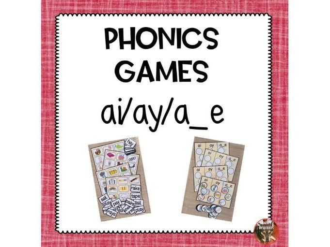 Phonics Lotto Game