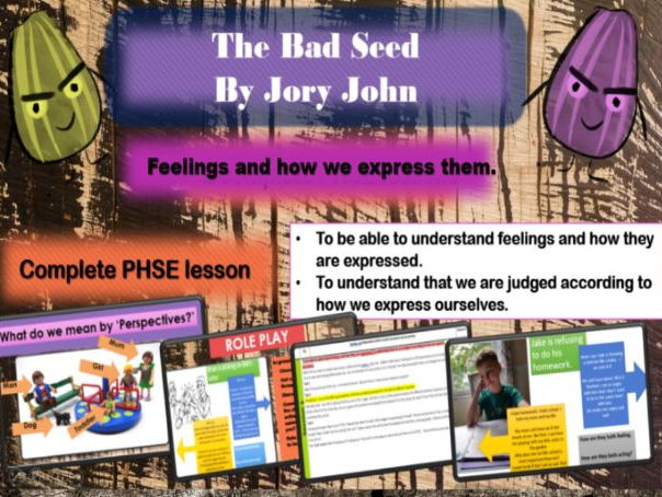 Feelings and how we express them - Complete PHSCE lesson KS2