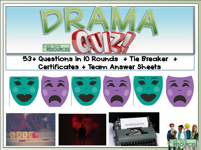 Drama - End of Term Quiz