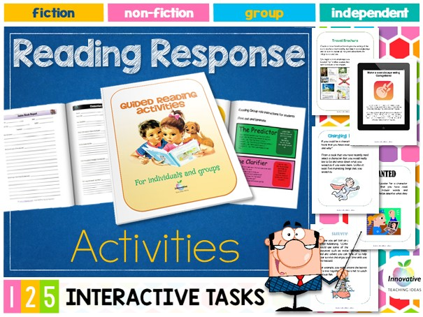 Guided Reading Toolkit: 125 Reading Response Tasks, Games, Projects for ANY BOOK